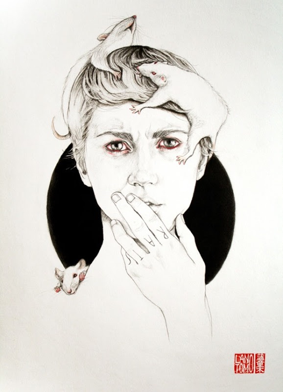 Illustrations and on Paper and Wood by Antonella Montes (aka Lantomo): antonella montes a.k.a. lantomo 6[6].jpg